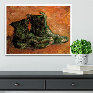 A Pair of Shoes by Van Gogh Framed Print - Canvas Art Rocks -6