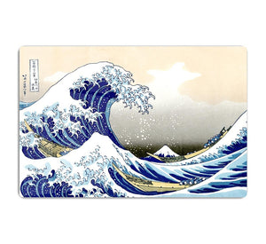 A big wave off Kanagawa by Hokusai HD Metal Print