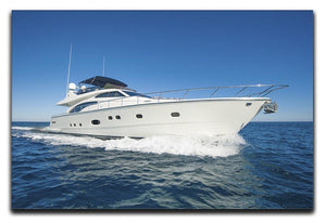 A luxury private motor yacht Canvas Print or Poster  - Canvas Art Rocks - 1