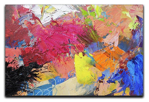 Abstract art Canvas Print or Poster  - Canvas Art Rocks - 1