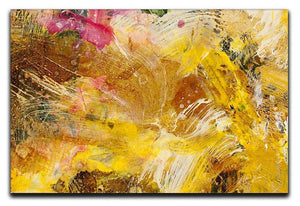 Abstract background by acrylic paint Canvas Print or Poster  - Canvas Art Rocks - 1