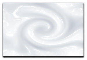 Abstract milk circulation Canvas Print or Poster  - Canvas Art Rocks - 1