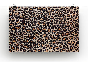 Abstract texture of leopard Canvas Print or Poster - Canvas Art Rocks - 2