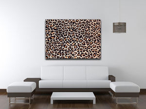 Abstract texture of leopard Canvas Print or Poster - Canvas Art Rocks - 4