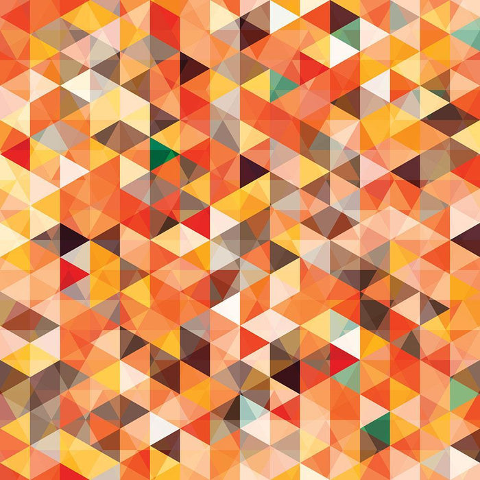 Abstract triangle seamless Wall Mural Wallpaper