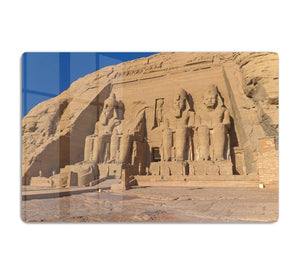 Abu Simbel Temple of King Ramses II HD Metal Print