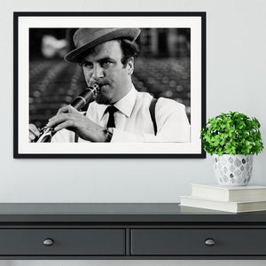 Acker Bilk Framed Print - Canvas Art Rocks - 1