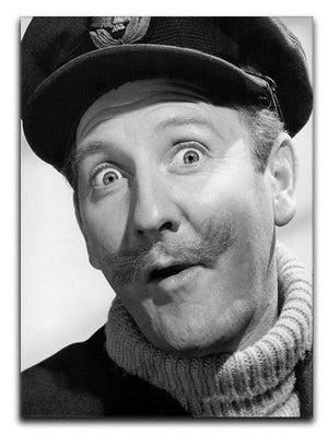 Actor Leslie Phillips Canvas Print or Poster  - Canvas Art Rocks - 1