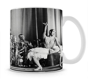 Actress Josephine Baker at the Prince Edward theatre Mug - Canvas Art Rocks - 1
