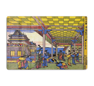 Advent of Urashima at the Dragon palace by Hokusai HD Metal Print