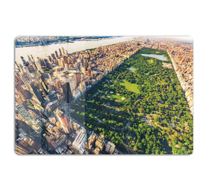 Aerial view looking north up Central Park HD Metal Print
