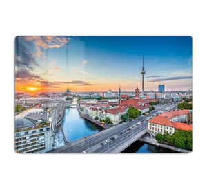 Aerial view of Berlin skyline HD Metal Print