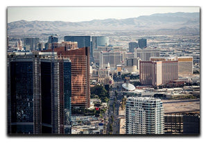 Aerial view of Las Vegas Canvas Print or Poster  - Canvas Art Rocks - 1