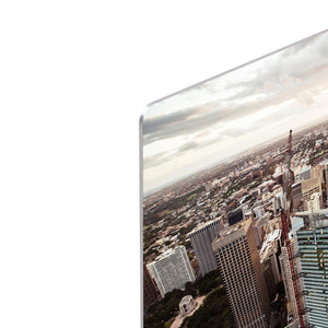 Aerial view of downtown Sydney at sunset HD Metal Print