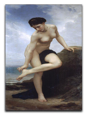 After the Bath By Bouguereau Canvas Print or Poster  - Canvas Art Rocks - 1