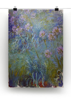 Agapanthus by Monet Canvas Print & Poster - Canvas Art Rocks - 2