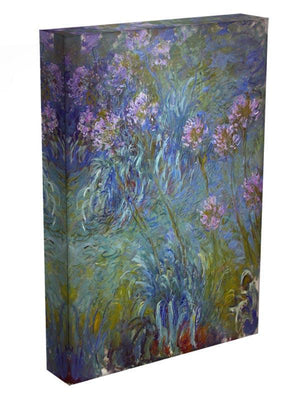 Agapanthus by Monet Canvas Print & Poster - Canvas Art Rocks - 3