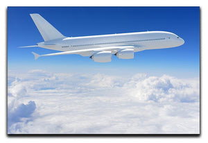 Airplane in the sky Canvas Print or Poster  - Canvas Art Rocks - 1