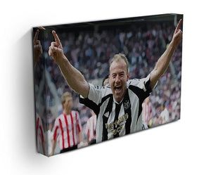 Alan Shearer Print - Canvas Art Rocks - 3