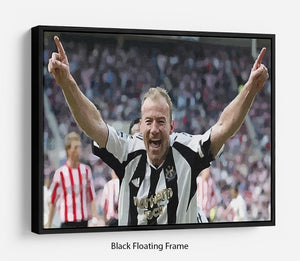 Alan Shearer Floating Frame Canvas