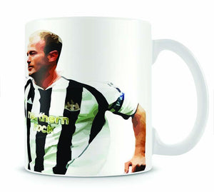 Alan Shearer Newcastle Goal Hero Mug - Canvas Art Rocks - 1