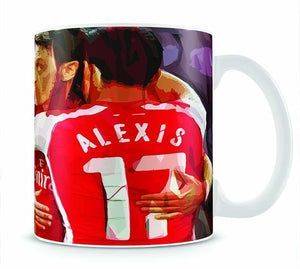 Alexis Sanchez and Mesut Ozil Mug - Canvas Art Rocks - 1
