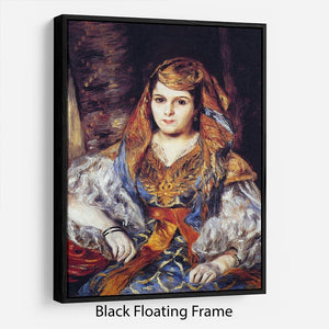 Algerian Woman by Renoir Floating Frame Canvas