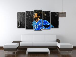 Andrea Pirlo 5 Split Panel Canvas - Canvas Art Rocks - 3
