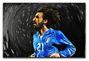 Andrea Pirlo Canvas Print or Poster  - Canvas Art Rocks - 1