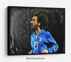 Andrea Pirlo Floating Frame Canvas