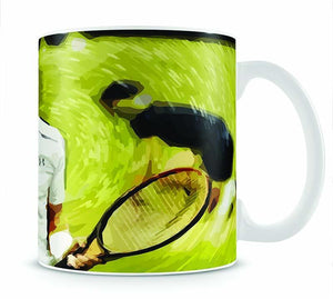 Andy Murray Wimbledon Mug - Canvas Art Rocks - 1