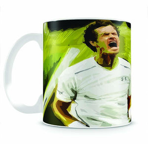 Andy Murray Wimbledon Mug - Canvas Art Rocks - 2