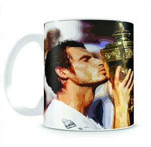 Andy Murray Wimbledon Winner Mug - Canvas Art Rocks - 2