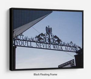 Anfield Gates Floating Frame Canvas