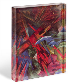 Animal Fates by Franz Marc Acrylic Block - Canvas Art Rocks - 1