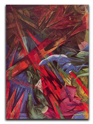 Animal Fates by Franz Marc Canvas Print or Poster  - Canvas Art Rocks - 1
