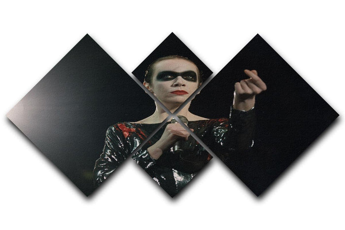 Annie Lennox in concert 4 Square Multi Panel Canvas