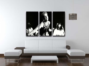 Annie Lennox on stage 3 Split Panel Canvas Print - Canvas Art Rocks - 3