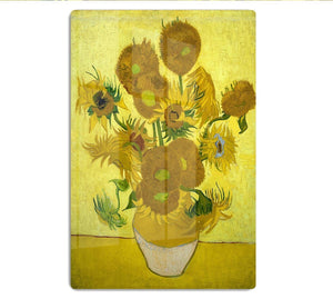 Another vase of sunflowers HD Metal Print