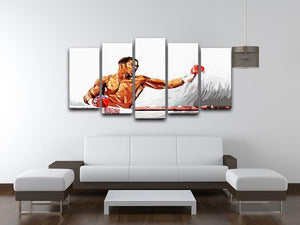 Anthony Joshua 5 Split Panel Canvas - Canvas Art Rocks - 3