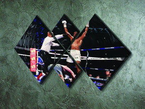 Anthony Joshua vs Klitschko 4 Square Multi Panel Canvas - Canvas Art Rocks - 2