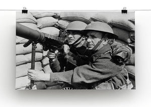 Anti-aircraft station Canvas Print or Poster - Canvas Art Rocks - 2