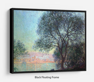 Antibes seen from La Salis by Monet Floating Frame Canvas