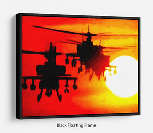 Apocalypse Now Floating Frame Canvas