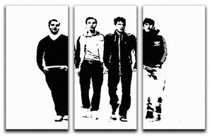 Arctic Monkeys 3 Split Panel Canvas Print - Canvas Art Rocks - 1