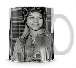 Aretha Franklin Mug - Canvas Art Rocks - 1