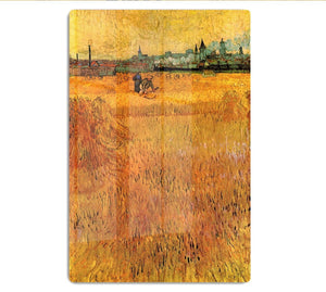 Arles View from the Wheat Fields by Van Gogh HD Metal Print