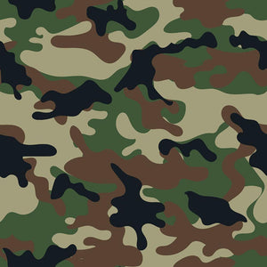 Army military camouflage Wall Mural Wallpaper - Canvas Art Rocks - 1