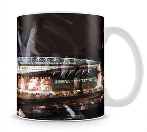 Arsenal Emirates Stadium Mug - Canvas Art Rocks - 1