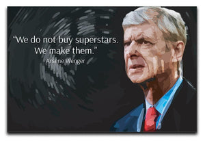 Arsene Wenger Superstars Canvas Print or Poster  - Canvas Art Rocks - 1